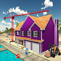House Construction Beach Building Sim icon