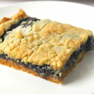 Blueberry Pie Bars.