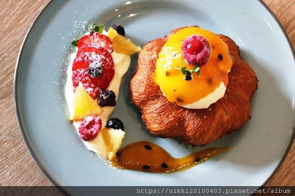 台北大安甜點下午茶 創意鬆餅 Moi cafe 大安區約會餐廳