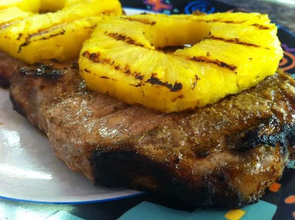 Caribbean Jerk Bbq Pork Chops Recipe