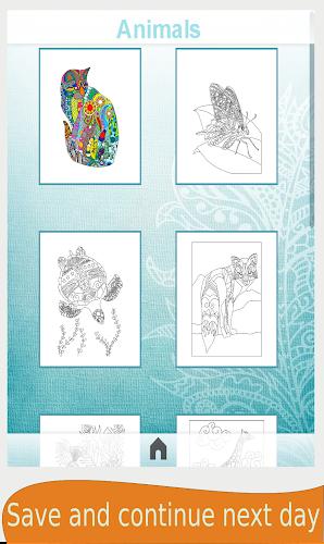 Mandala Coloring Book For Adults Android App Screenshot
