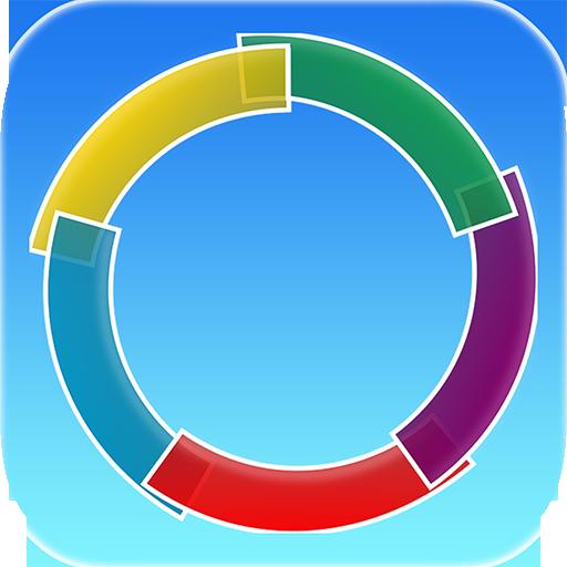 旋转碰碰圈 休閒 App LOGO-硬是要APP