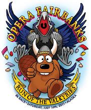 "Photo: Opera Fairbanks ""Run of the Valkyries"" 2011 Poster + Tshirt design"