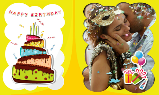 Photo On Birthday Greeting Cards Birthday Wishes Apps On Google Play