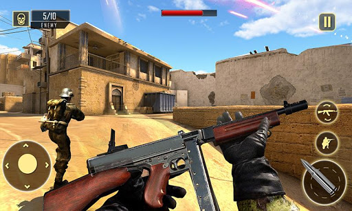 Télécharger Army Squad Survival War Shooting Game APK MOD (Astuce) screenshots 1