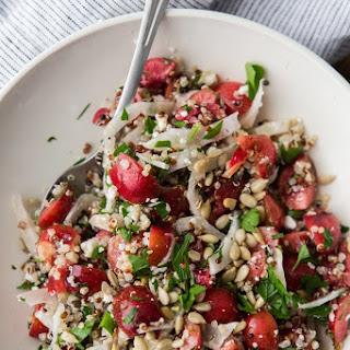 Quinoa, Fennel, and Cherry Salad