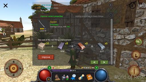 World Of Rest: Online RPG 1.34.2 screenshots 4