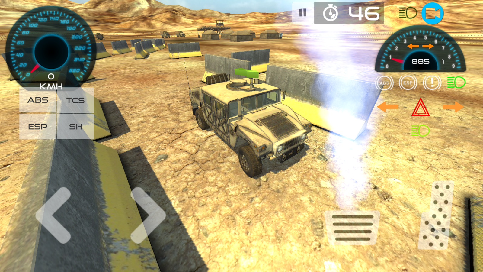 Military Vehicle Parking 3D- screenshot