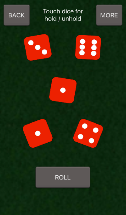 Basic Dice Roller- screenshot