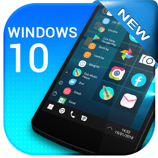 Computer new Launcher for Win10 2019 New themes
