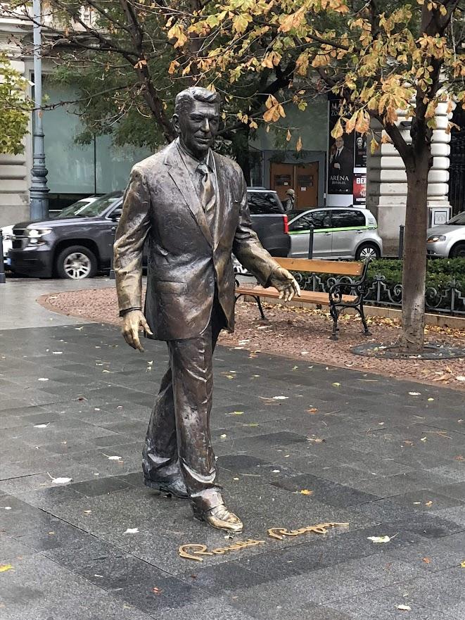 Budapest Ronald Reagan Statue