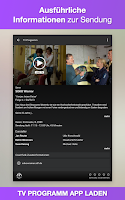 Screenshot of TV Programm App TV.de Live TV
