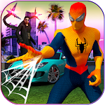 Spider Web Hero : Gangster Vegas Crime City Icon
