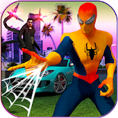 Spider Web Hero : Gangster Vegas Crime City