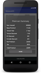 App Reliance General Premium Cal APK for Windows Phone