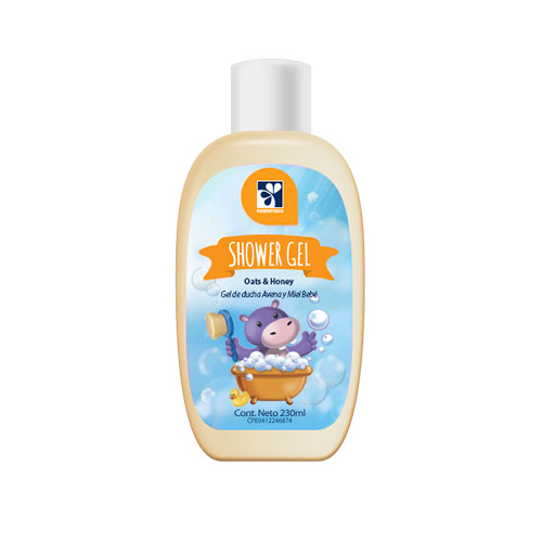 Shower Gel Farmatodo Bebe Avena Y Miel 230ml