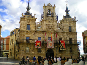 Photo: Etapa 20. Ajuntament. Astorga.