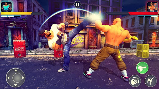 Real Superhero Kung Fu Fight Champion - New Games apktreat screenshots 1