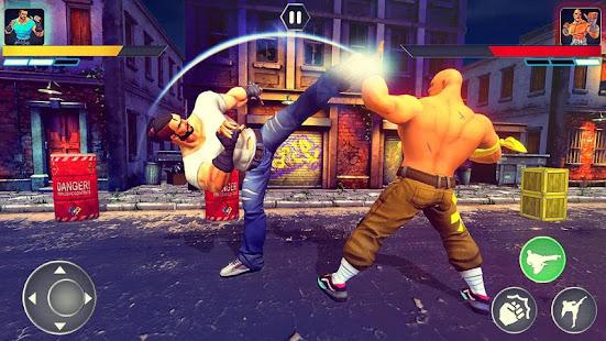 Super hero Kung fu pertarungan juara Mod
