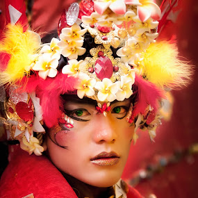Red by Joni Irwanto - People Portraits of Men ( journalism, fashion, carnival, indonesia )