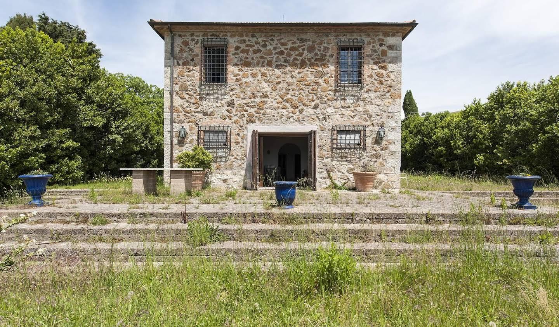 Villa avec jardin et terrasse Roccalbegna
