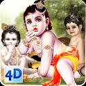 4D Little Krishna App & LWP icon