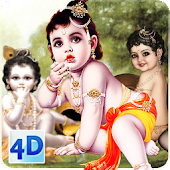 4D Little Krishna App & LWP