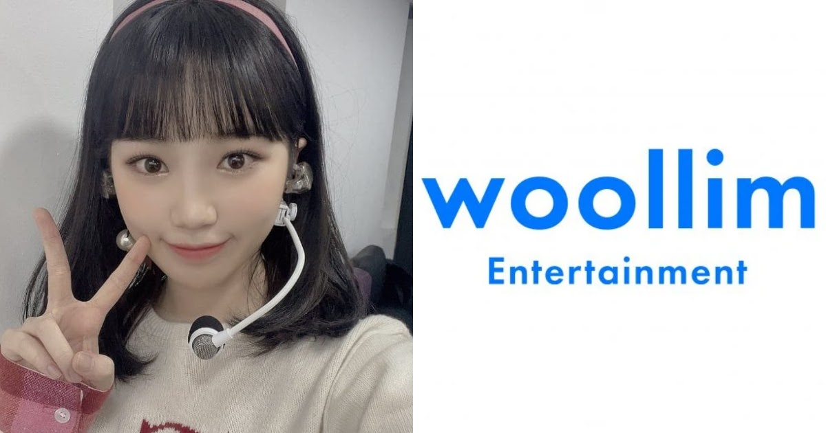 Woollim Entertainment Removes Kim Chaewon's Profile, Raising Questions About Her Future