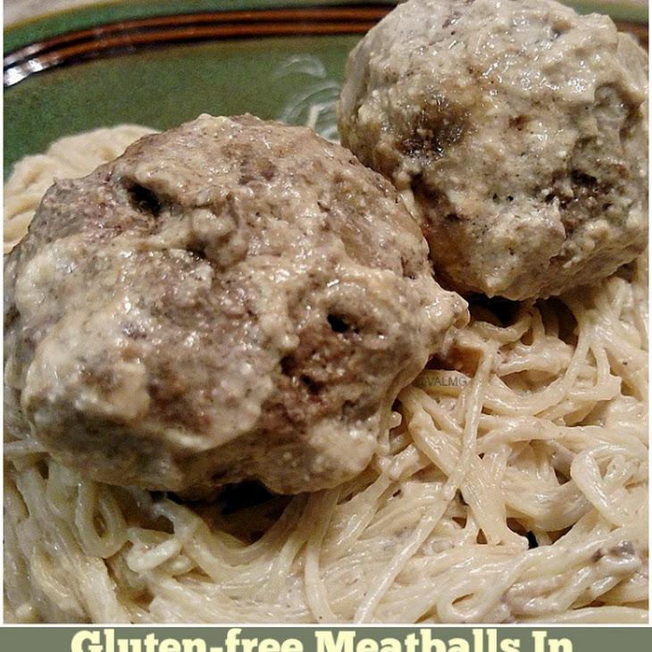 Gluten-Free Meatballs in Creamy Gravy #Recipe Recipe