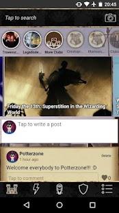 Potterzone - náhled