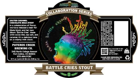 Logo of Pateros Creek Battle Cries Stout