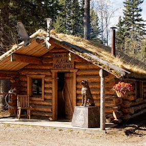 Chena Village Post Office by Rev Marc Baisden - Buildings & Architecture Other Exteriors ( history, adventure, village, alaska, travel, living,  )