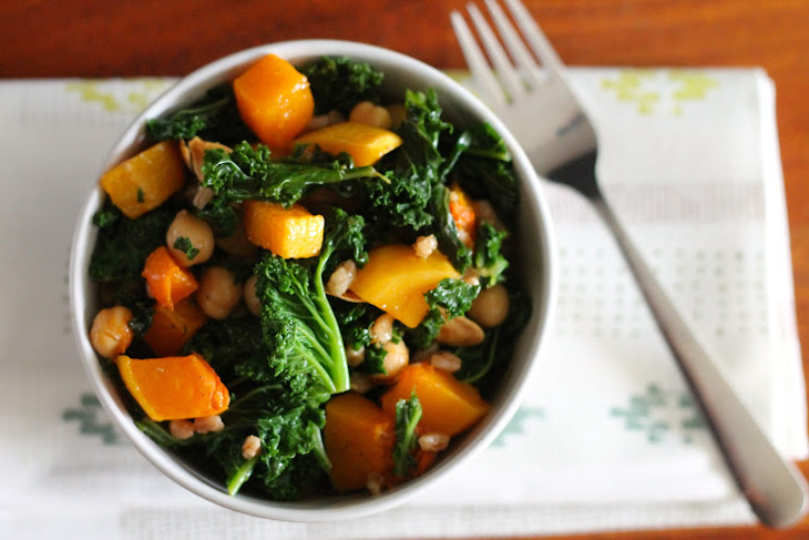 Kale and Butternut Squash Salad Recipe