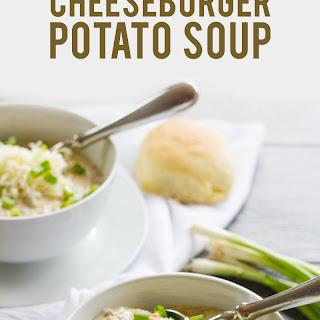 Slow Cooker Cheeseburger Potato Soup.