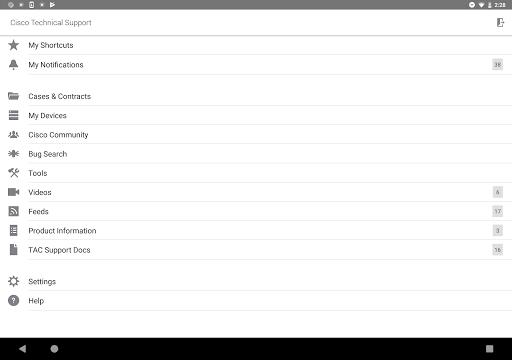 Cisco Technical Support screenshot 12