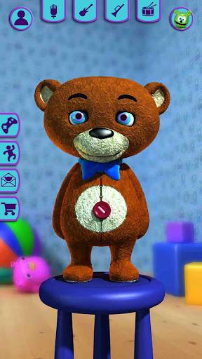 Talking Teddy Bear - Talking Games Teddy  screenshots 1