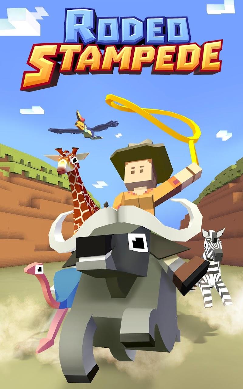 Rodeo Stampede: Sky Zoo Safari Screenshot 0