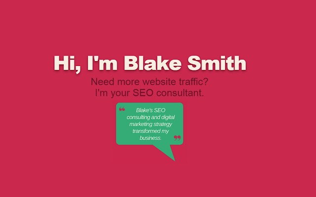 Blake Smith's SEO Consulting