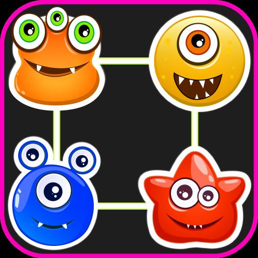 Monster Connect Crush Deluxe 休閒 App LOGO-硬是要APP