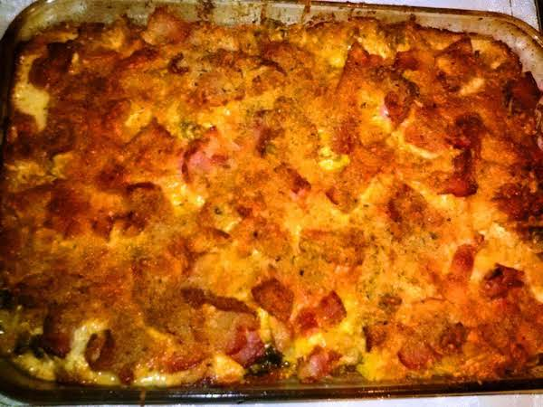 Acorn Squash & Bacon Baked Macaroni & Cheese