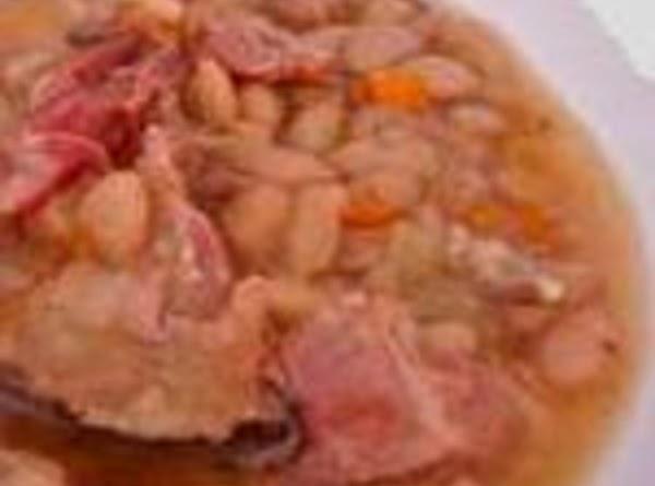 Congressional Bean Soup- Grandma's Recipe