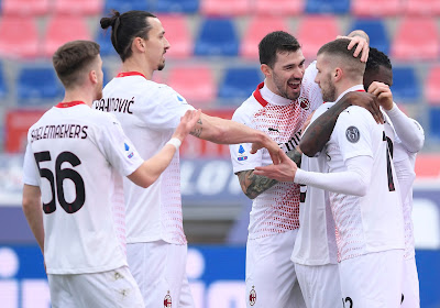 Milan s'est imposé à Bologne et reste en tête du classement