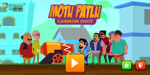 Motu Patlu Cannon Attack 1.0 screenshots 1