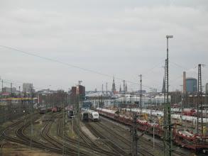 Photo: Gleisanlage Spähenfelde, 14.2.14
