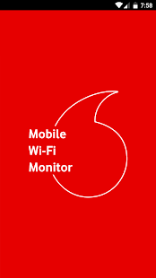 Vodafone Mobile Wi-Fi Monitor- screenshot thumbnail