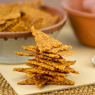 Spicy Cumin-Cheddar Crackers