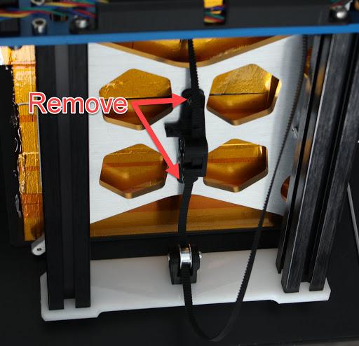 Y-axis tensioner