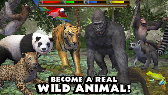 Ultimate Jungle Simulator Screenshot