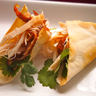 Chinese Chicken Tacos.