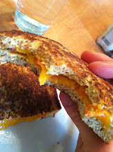 Photo: Egg Fried Grilled Cheese (with Salsa)